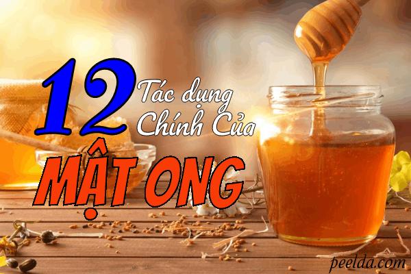 12 Tác Dụng Chính Của Mật Ong Khiến Bạn Phải Kinh Ngạc.